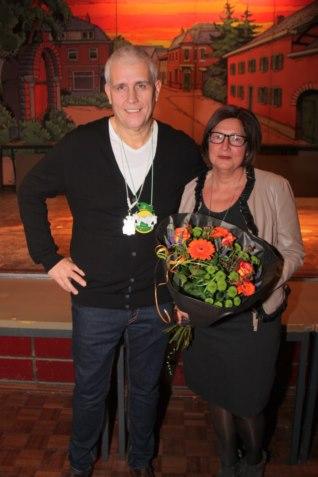 Con Weijers samen met zijn vrouw Marga