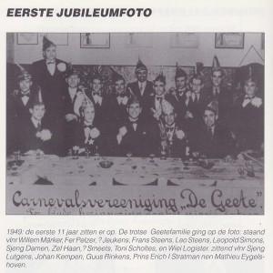 Eerste jubileumfoto